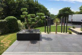 terrasse bois, céramique